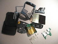 Motorola Q got run over